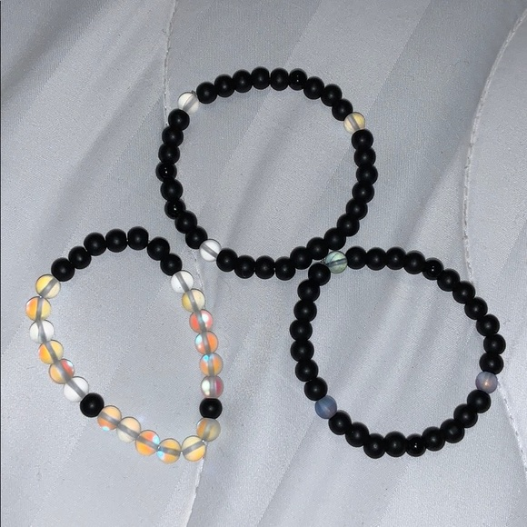 "Jewelry - ""midnight"" bracelet set"